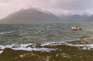 Stormy sea at Elgol, Isle of Skye