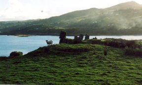 Ruin of Toravaig Castle, Sleat, Isle of Skye