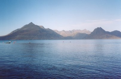 Cullins from Elgol, Isle of Skye