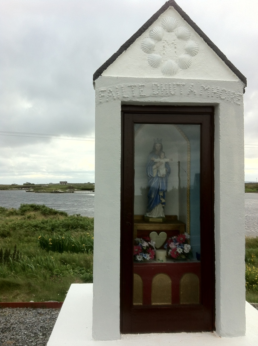 Shrine to Mother Mary, Isle of South Uist