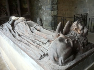 Effigy of Robert the Bruce, King of Scots