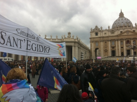 Community of Sant'Egidio at the Conclave in 2013