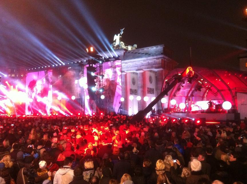 25 years since the Berlin Wall fell