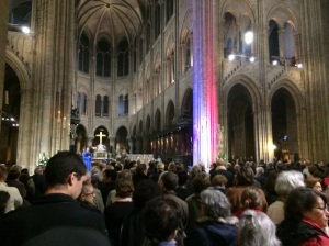 Commorative Mass at Notre Dame Cathedral