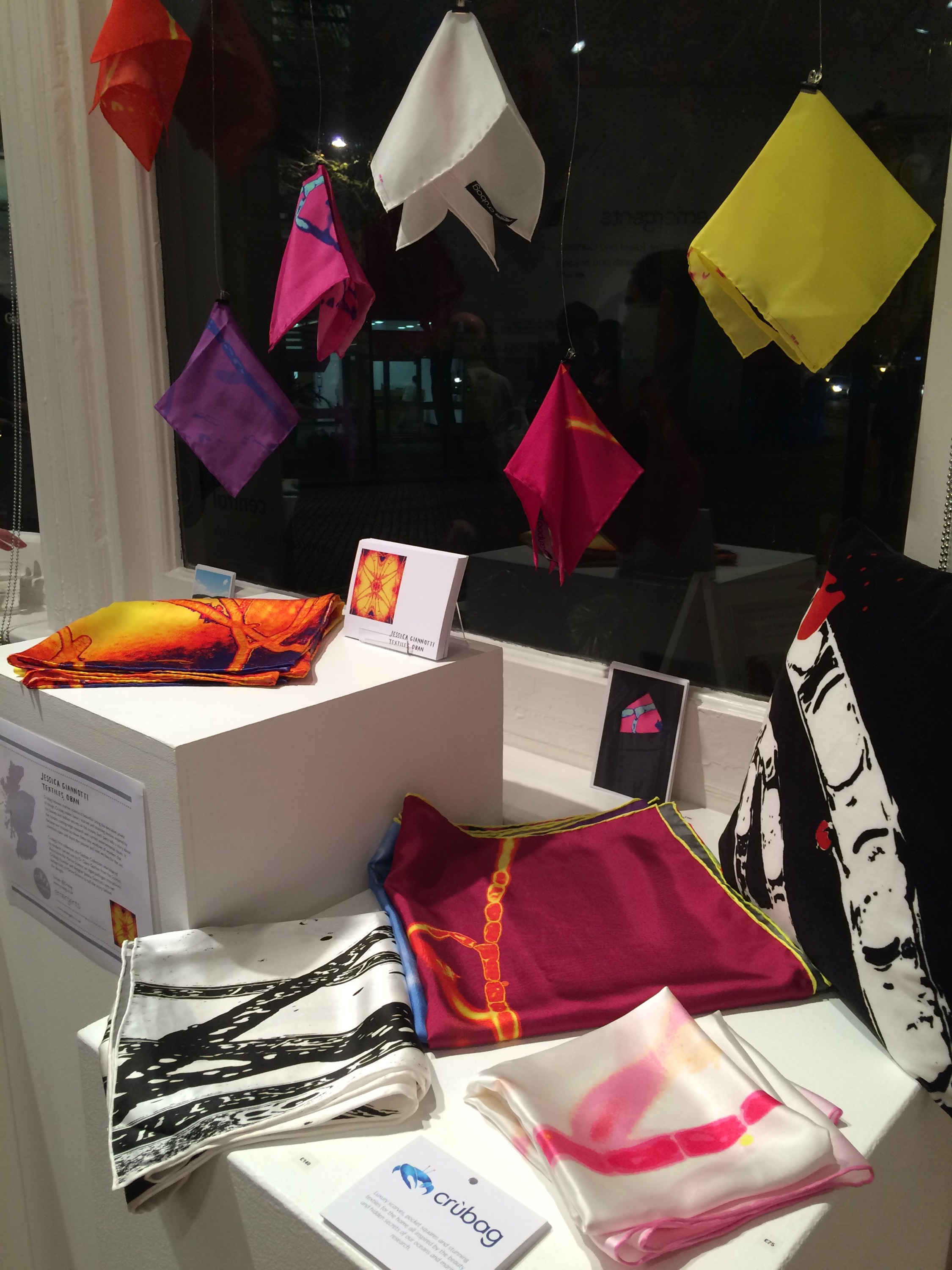 Crùbag's display at Craft Central