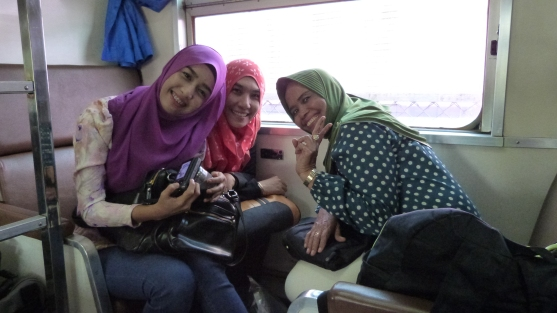 Fellow passengers from Southern Thailand