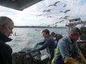 Fischer von der Isle of Luing an der schottischen Westküste