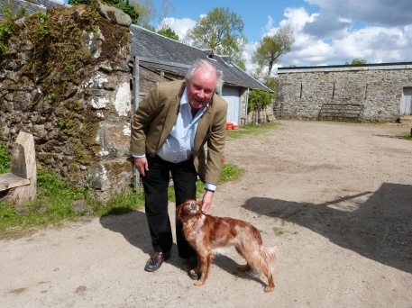 Sir Jamie McGrigor auf seiner Farm in der schottischen Highlands
