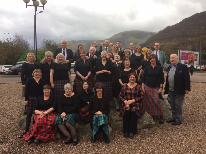 Choir at Fort William