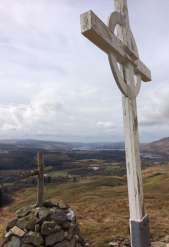 Crosses above Dalmally