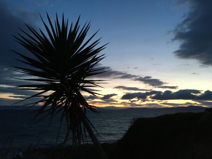 Sunset on Lesvos